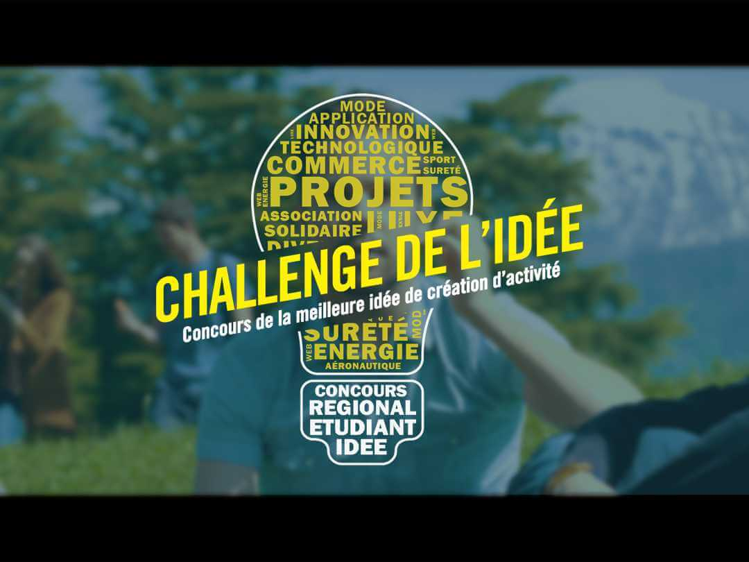 Publicité Challenge de l'idée 2017